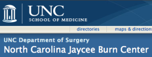 NC Jaycee Burn Center Logo